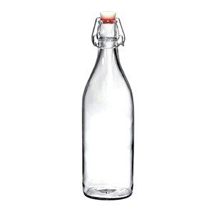 Botella clásica de vidrio