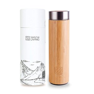 Botella de bambú Santai
