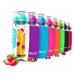 Botellas con filtro para frutas