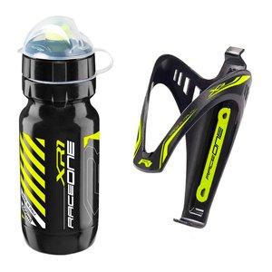 botella con portabotellas bicicleta